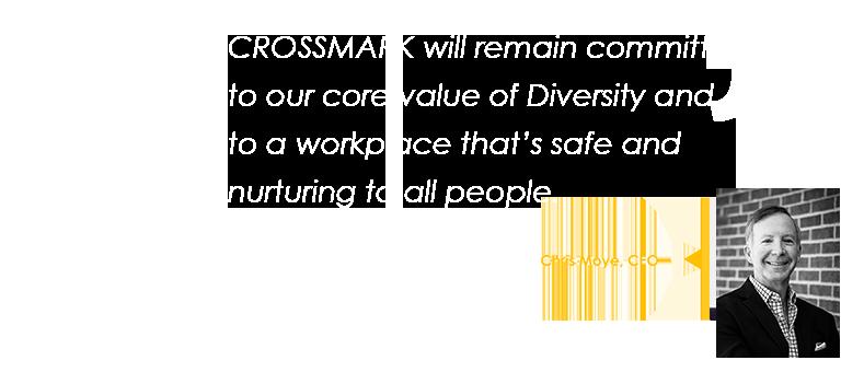 CROSSMARK Chris Moye quote